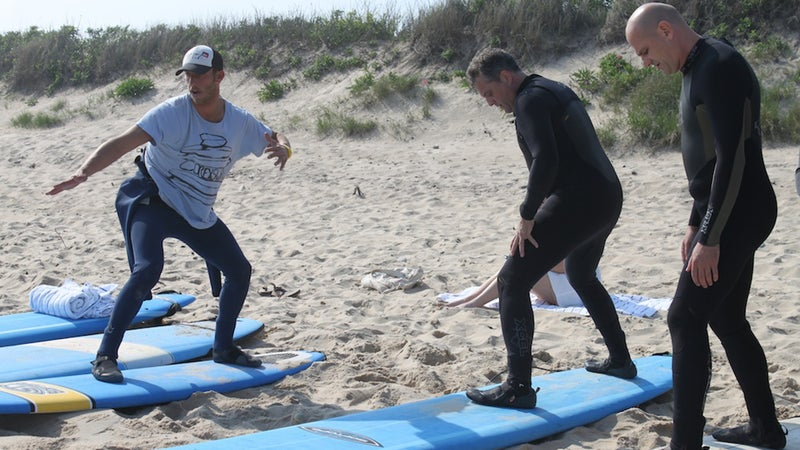 CoreysWave Surf Camp in Montauk, New York