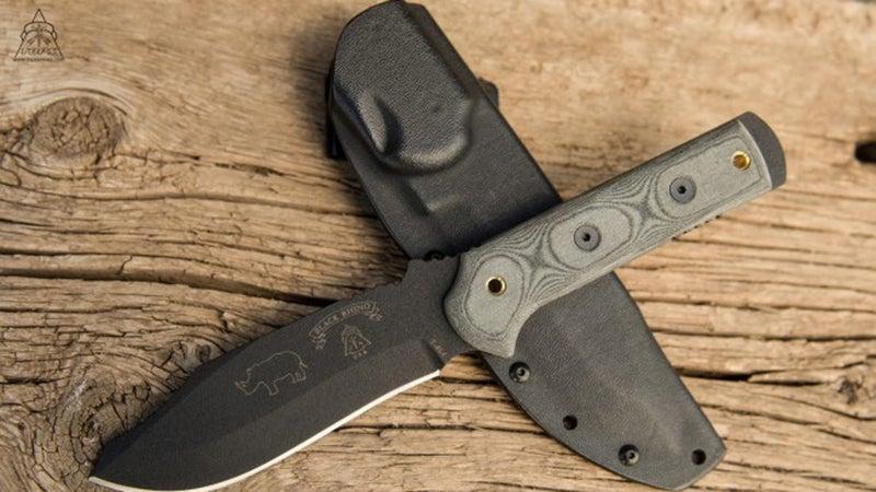 Tops Knives Black Rhino Survival Knife