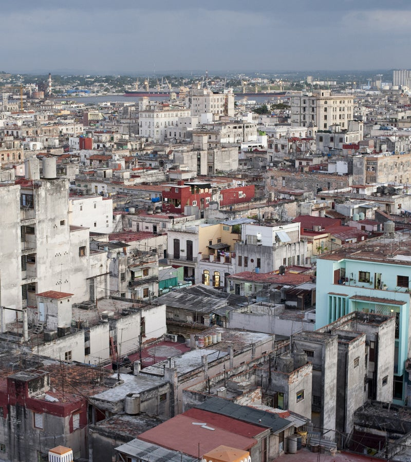 Cuba's sprawl.
