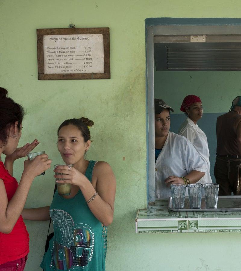 A cafe in Havana.