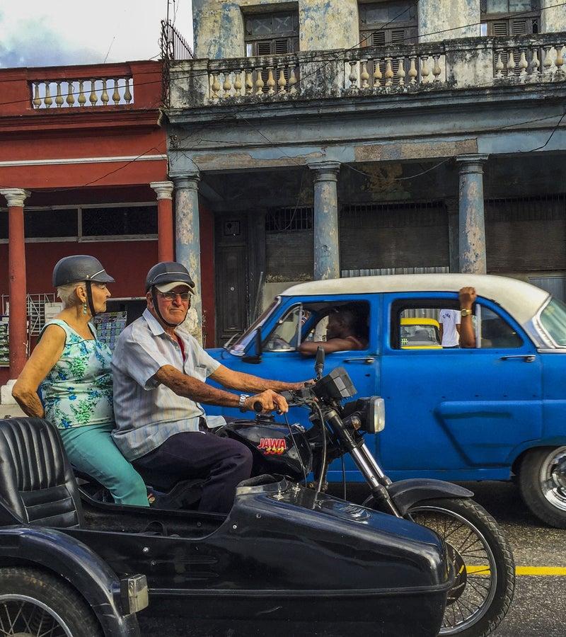 Traffic in Havana.