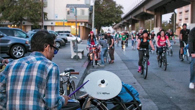Gearing up for the East Bay Bike Party