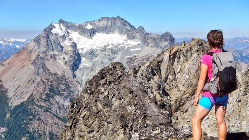 Anderson in the North Cascades. She discovered hiking in college, taking a summer job at the Grand Canyon after her freshman year.