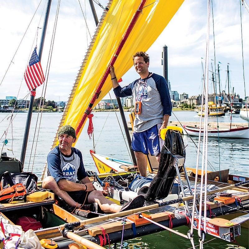 Thomas Nielsen and Scott Veirs of Team Sea Runner.