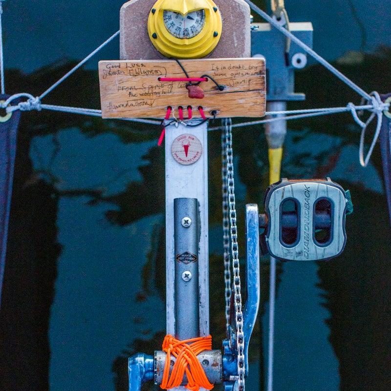 Team Sea Runner's pedal drive.