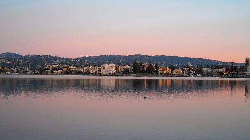 Lake Merritt.