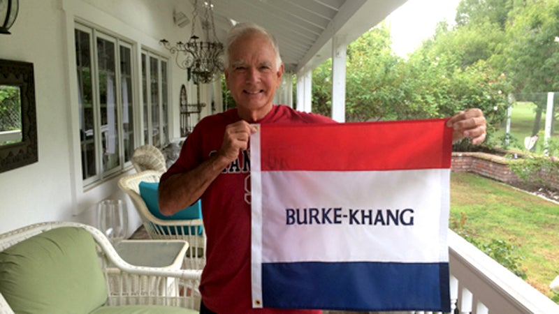Bill Burke is still not sure why the summit was named after him.