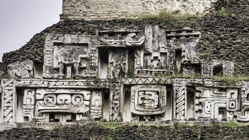 Xunantunich ruins.