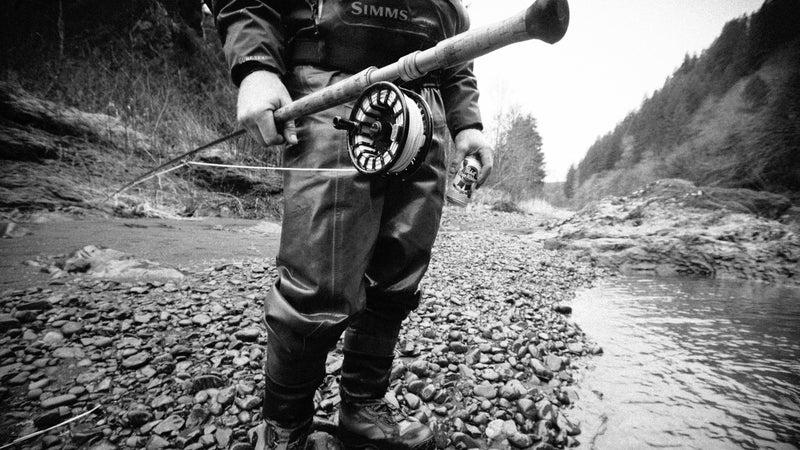In pursuit of Oregon steelhead.
