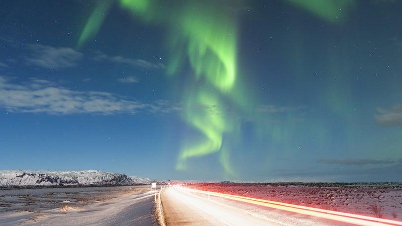 Icelandic fireworks.