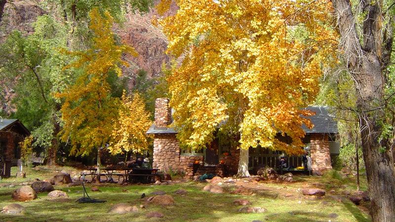 The Grand Canyon's Phantom Ranch.