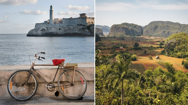 Postcards from Cuba.