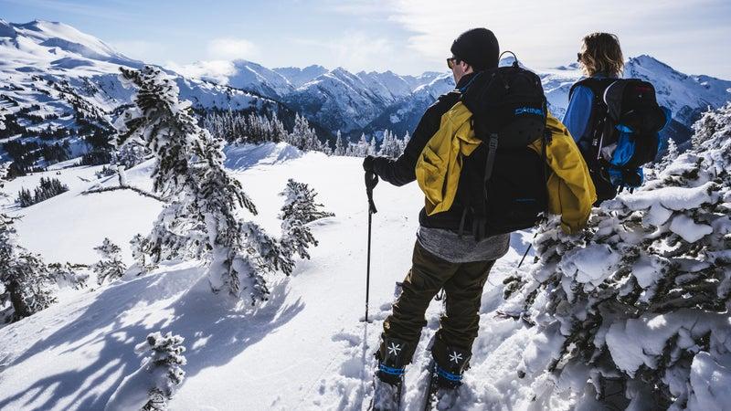 Untouched snow in Garibaldi Provincial Park.