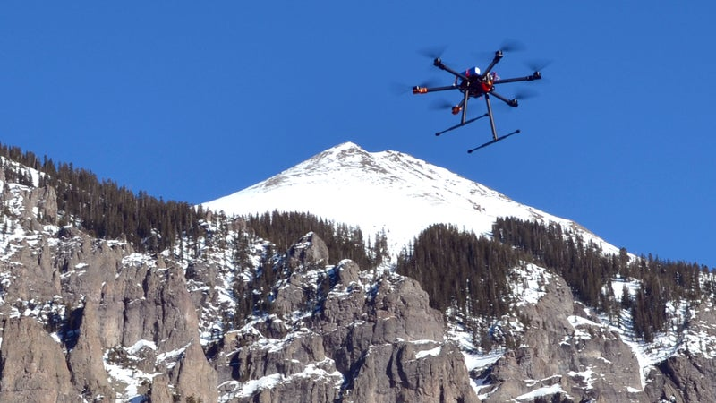 Mountain Drones has developed an extremely robust testing program, some of which happens on the ground.