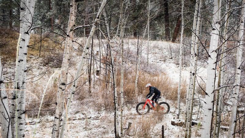 Training above Durango.