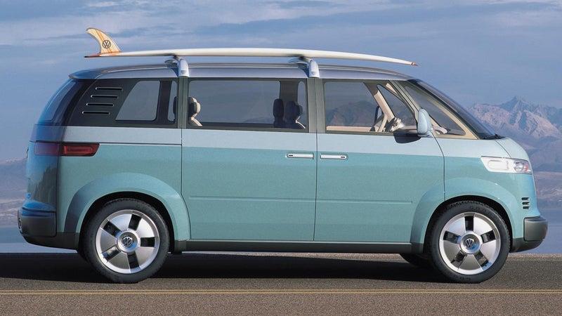 VW's Microbus concept.