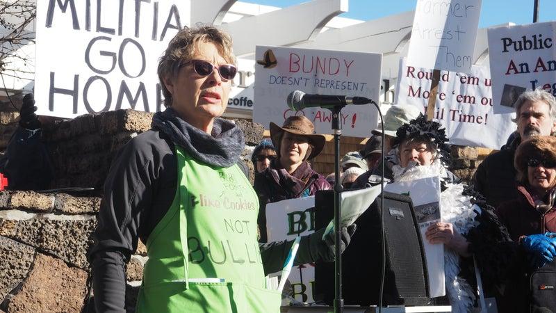 Rynda Clark, a co-founder of the Bitterbrush Broadband.
