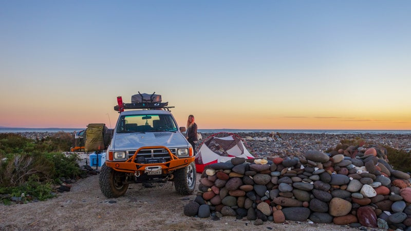 Way out there in Baja, no one's coming along to give you a tow; you need to know your vehicle can handle tricky surfaces like soft sand without getting stuck or breaking down.
