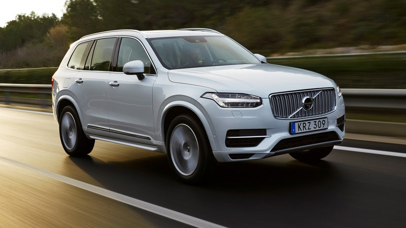 The XC90 reaches 50 mph in EV mode, better than most other hybrids.