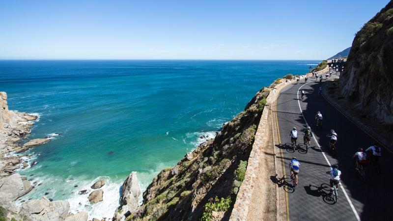 Chapmans Peak, Cape Town Cycle Tour
