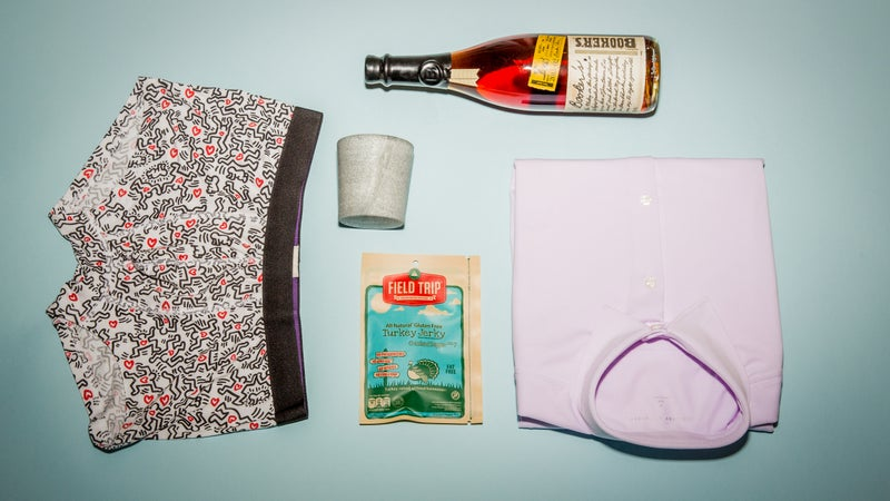 Bourbon and undies. What else is there?