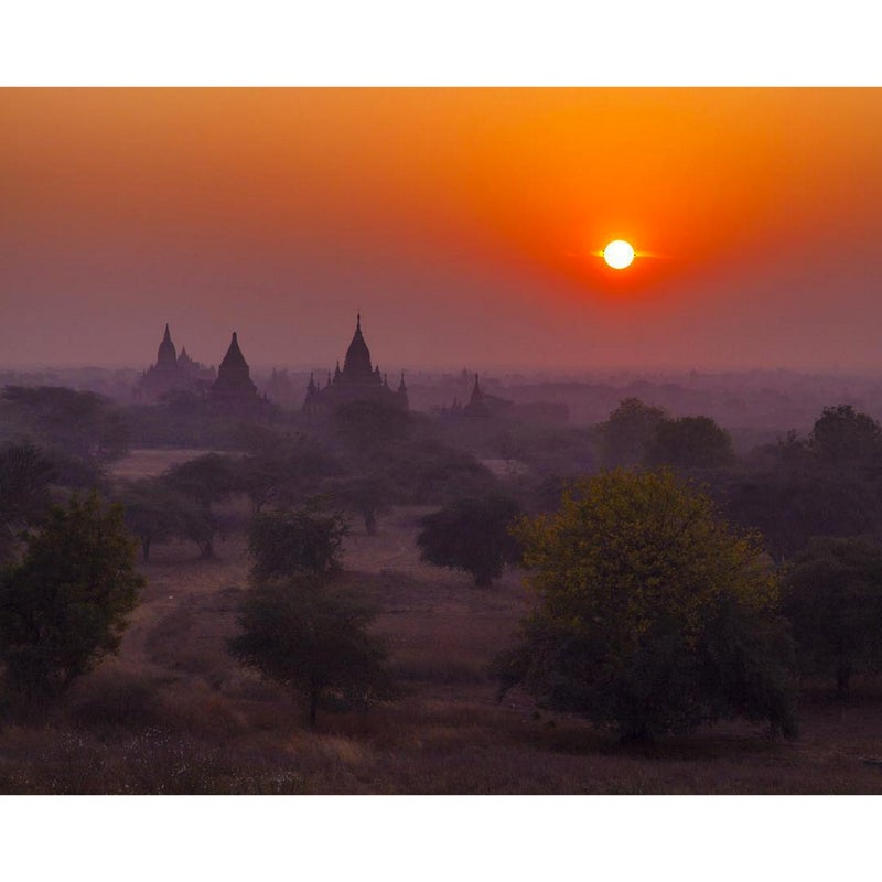 @duanejurma: I haven't quite seen sunrises and sunsets like those in Southeast Asia. This is Bagan, Myanmar, where you can climb up on the pagodas (after you take your shoes off) to watch the sun rise.