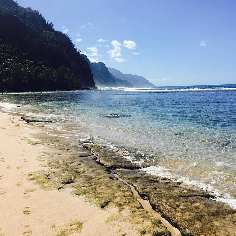 @kamcgrat6: My recommendation is to the Nā Pali coast on Kaua'i. Pictured here is Ke'e beach in Ha'ena State Park. This is the start of the infamous Kalalau trail, which was named one of the 20 most dangerous trails in the world by Outside Magazine. It is the most beautiful trail I have ever hiked! Around every bend you see something exquisite! I would say it is a must for all adventure travelers!