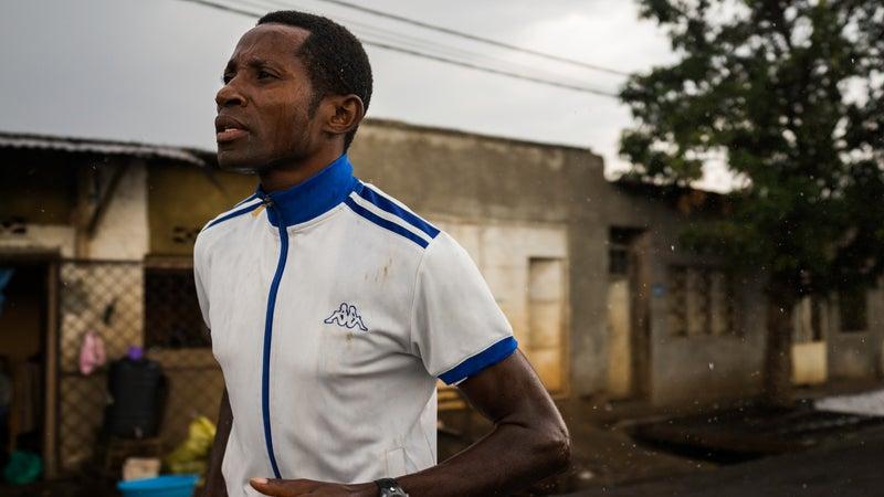 Ferdinand Nitunga says the Family Jogging Club changed his life.