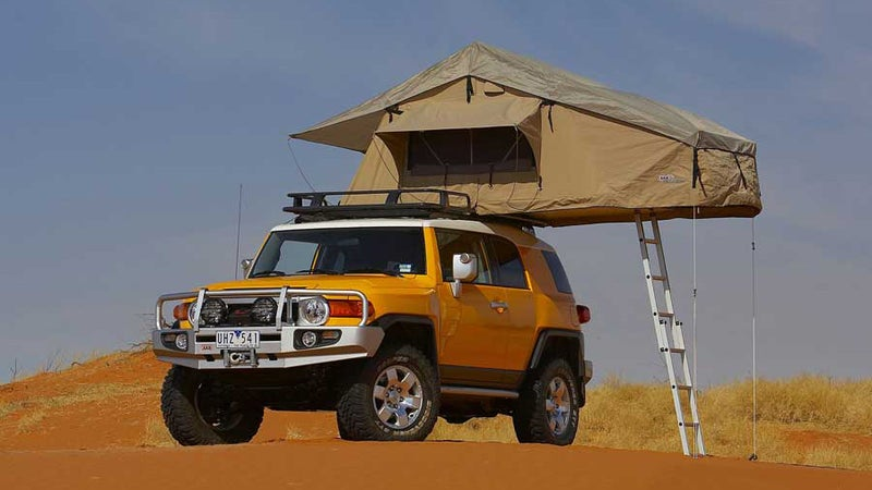 Rooftop tents like this one, from ARB, provide instant, home-away-from-home comfort, but with huge penalties to price and weight. Worth it?