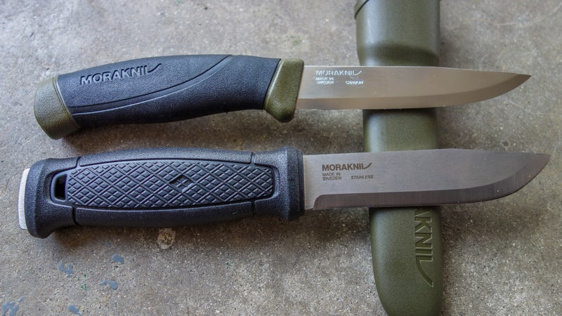 Is the $110 Garberg (bottom) truly better than Mora's legendary $15 Companion (top)? We're testing them to find that out.