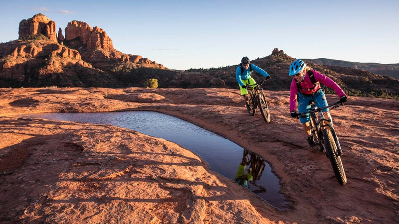 We're a little biased (it's where we conducted our 2016 bike test), but Sedona, Arizona, is a pretty unbeatable mountain-biking spot.