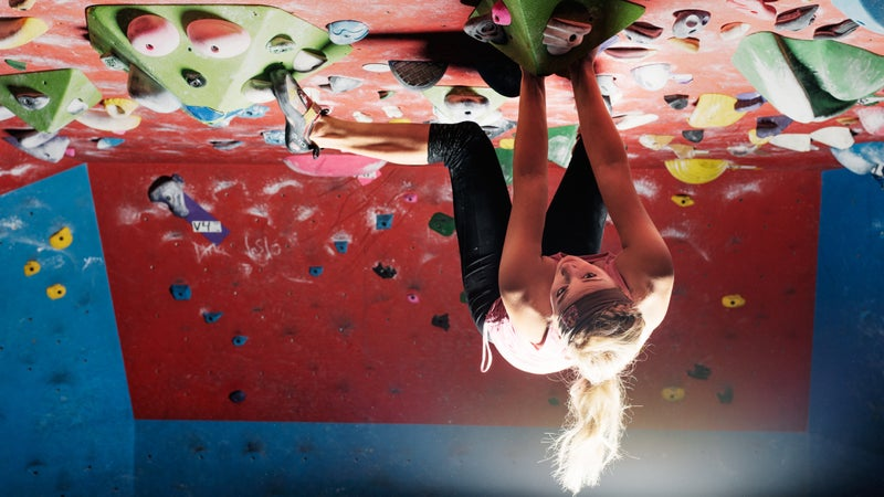 Sasha Digiulian is one of the most well known sport climbers taking it to big walls.