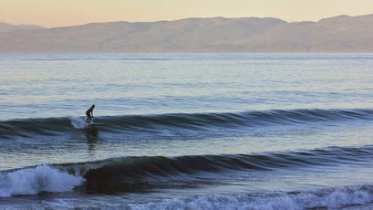 If there is a wave to surf, take a picture, but don't tell people where you were...please?