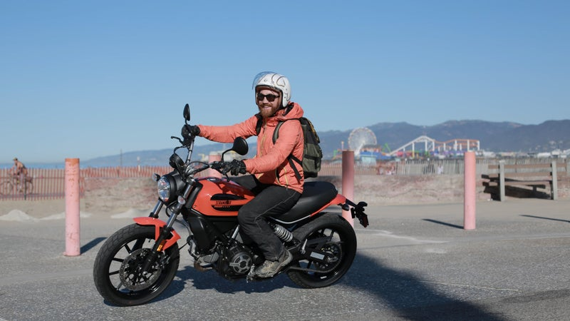 Either size Scrambler will be about the best city bike you can buy.