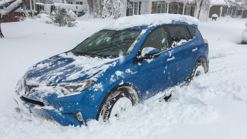 The new RAV4 Hybrid didn't even blink in 14 inches of wet spring snow.
