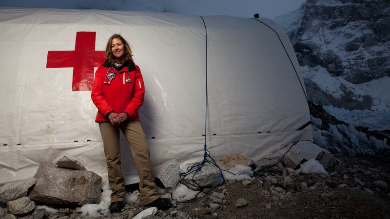 Luanne Freer at the Everest ER clinic in 2012.