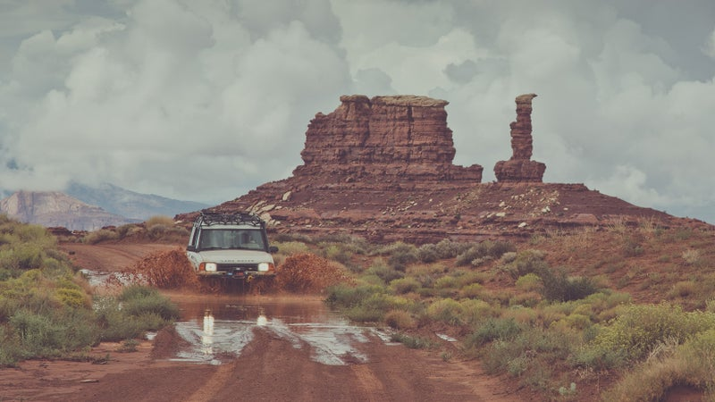 Sinuhe took this thing to Utah so often that I'm still getting the red dirt out of it.