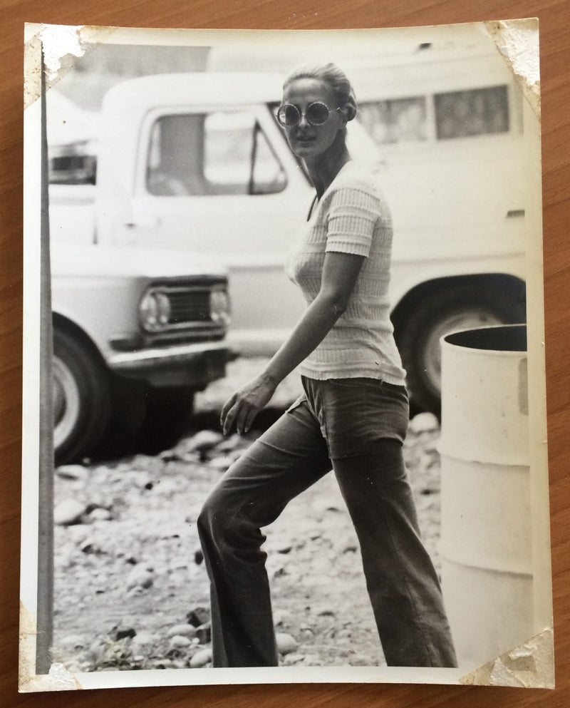 Grayson in the seventies.