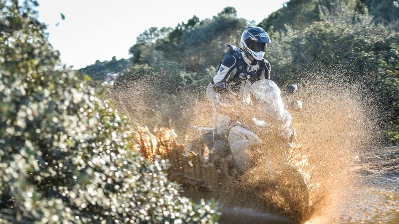 The new Ducati Multistrada 1200 Enduro gains taller suspension, wire wheels, and knobby tires. But would you really want to rely on one a long ways from the nearest paved road?