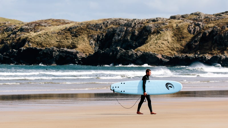 Surf instructor Alex Dixon.