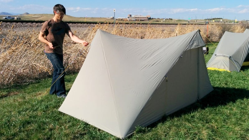 This new High Route 1 FL wants to be one of the lightest, most liveable ultralight shelters on the market.