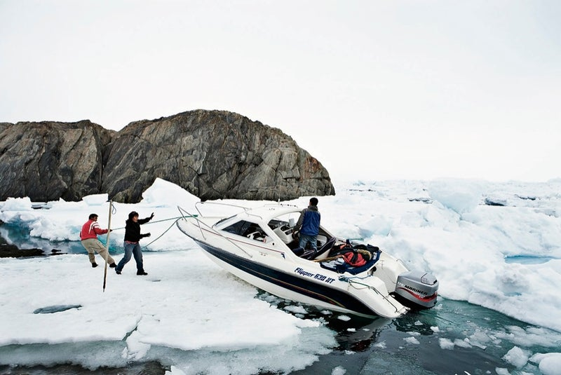 The Abelsons' slow boat to Tasiilaq