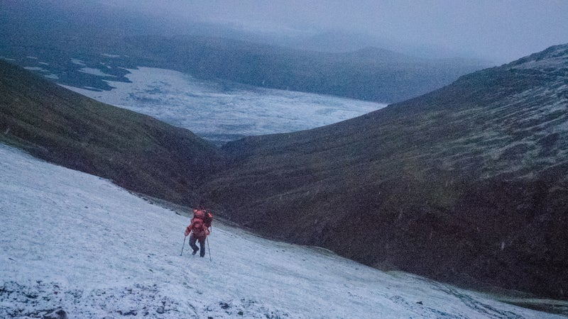 Chris made some bad decisions and ended up stuck on a mountain in Iceland during a storm. It was quality gear that enabled him to make it through.