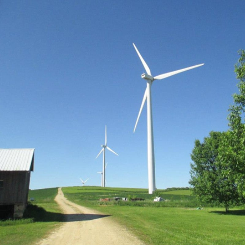 """""""I love jogging along the 1 mile long wind turbine service road behind my house!"""""""