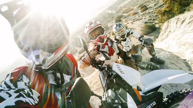 Dirt bikes and camping. Very little makes for a better weekend.