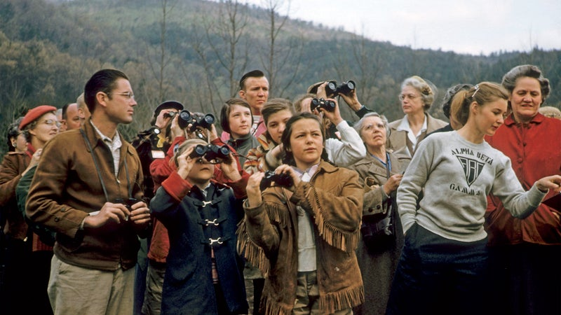 To visit Great Smoky and complain that it's choked with out-of-staters and Winnebagoists is like going to the Grand Canyon and complaining that it's a large hole.