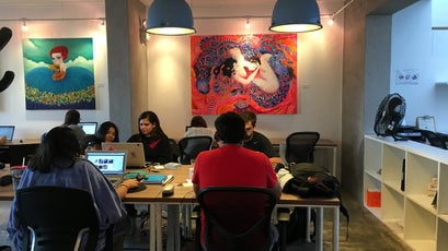 The co-working space in Lima.