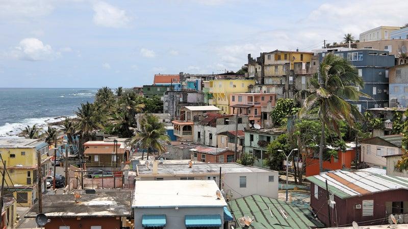 Old San Juan.