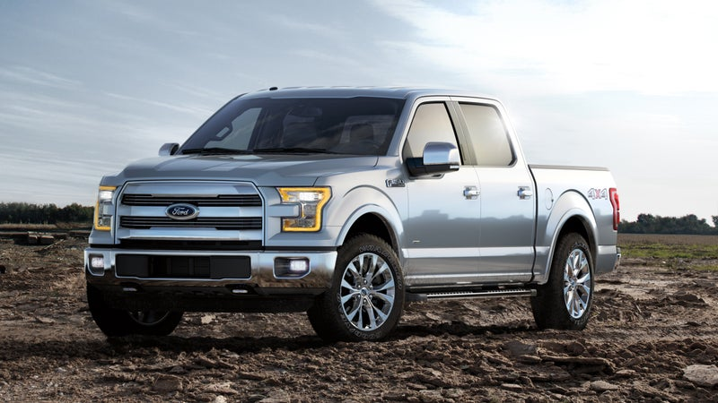 The all-new 2015 Ford F-150 introduced a new aluminum body to the Ford lineup. The military-grade aluminum reduces the trucks' weight by up to 700 pounds allowing it to be more agile and fuel efficient while making it more durable and powerful than previous models.