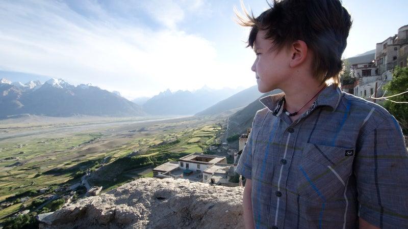 Bodi at the Karsha monastery.